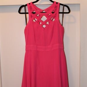 Hot Pink Guess Party Dress